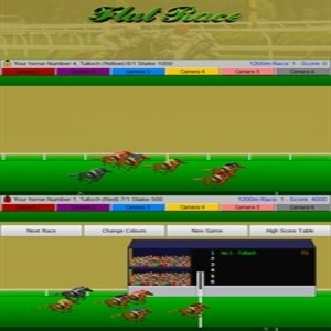 Flat Race Horse Racing Digital Download Price Comparison