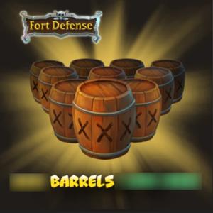 Fort Defense Barrels
