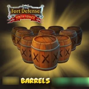 Fort Defense North Menace Barrels