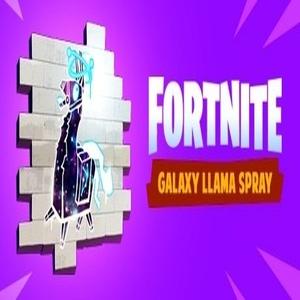 Fortnite Galaxy LLama Spray Bundle