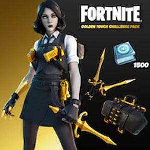 Fortnite Golden Touch Challenge Pack