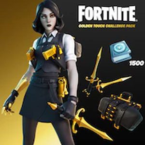 Fortnite Golden Touch Challenge Pack