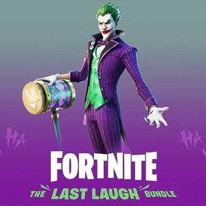Fortnite The Last Laugh Bundle DLC Ps4 Digital & Box Price Comparison