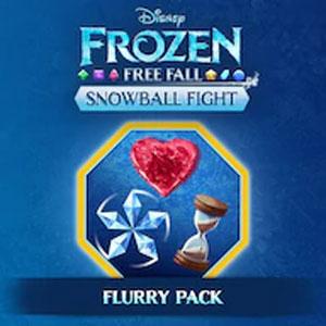 Frozen Free Fall Snowball Fight Flurry