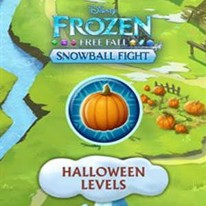 Frozen Free Fall Snowball Fight Halloween Levels