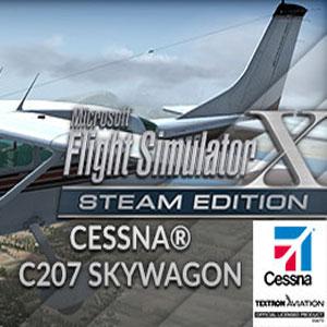 FSX Steam Edition Cessna C207 Skywagon Add-On