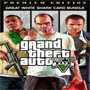 GTA 5 Premium Edition & Great White Shark Card Bundle