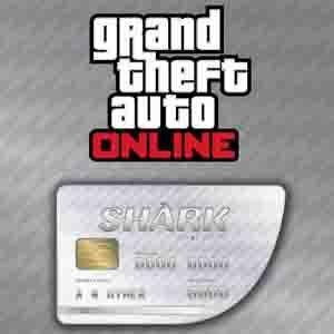 GTAO Great White Shark Cash Card