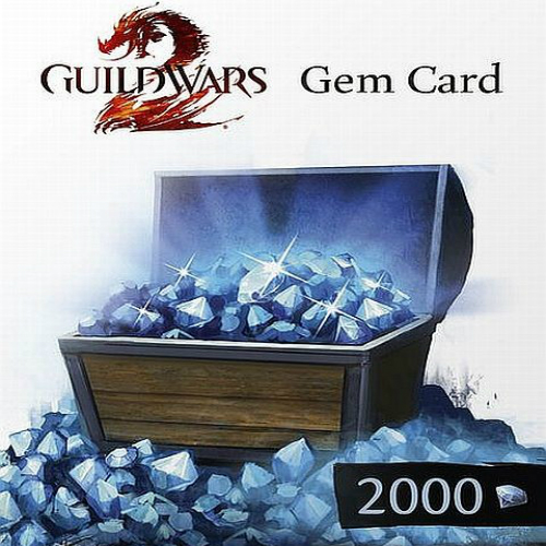 Guild Wars 2 GEMS 1200 Gamecard Code Price Comparison