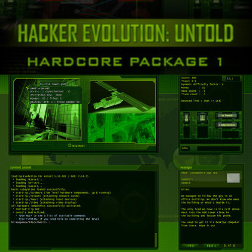 Hacker Evolution Untold Hardcore Package 1 Digital Download Price Comparison