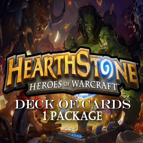 Hearthstone Deck Of Cards Pack 1 Gamecard Code Price Comparison