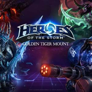 Heroes of the Storm Golden Tiger Mount Digital Download Price Comparison