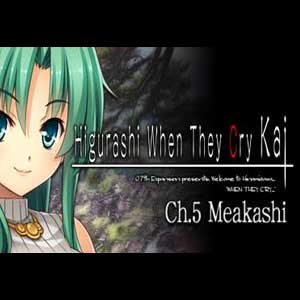 Higurashi When They Cry Hou Ch.5 Meakashi Digital Download Price Comparison