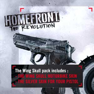 Homefront The Revolution Wing Skull Pack Ps4 Code Price Comparison
