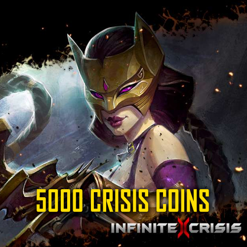 Infinite Crisis 5000 Crisis Coins Gamecard Code Price Comparison