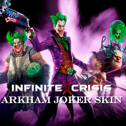 Infinite Crisis Arkham Joker Skin Digital Download Price Comparison