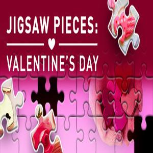 Jigsaw Pieces Valentines Day
