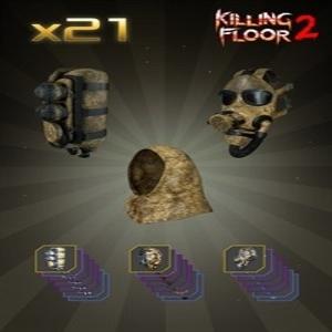Killing Floor 2 Chemical Warrior Gear Cosmetic Bundle