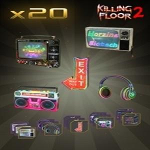Killing Floor 2 Future Neon Gear Cosmetic Bundle