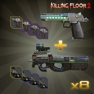 Killing Floor 2 Jaeger Weapon Skin Double Pack