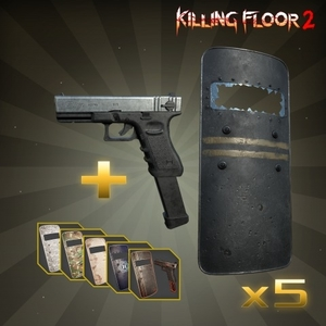 Killing Floor 2 Riot Shield and G18
