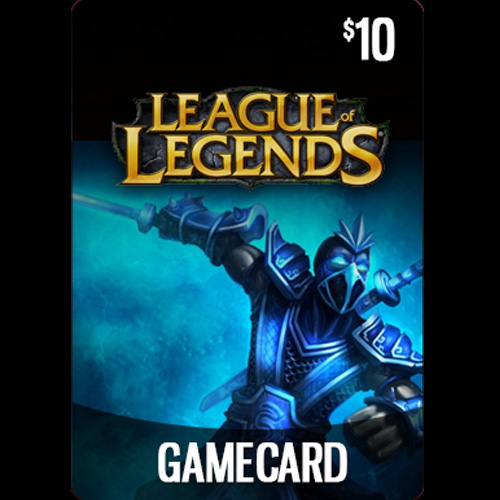 League Of Legends 10 USD Prepaid RP Cards US Gamecard Code Price Comparison