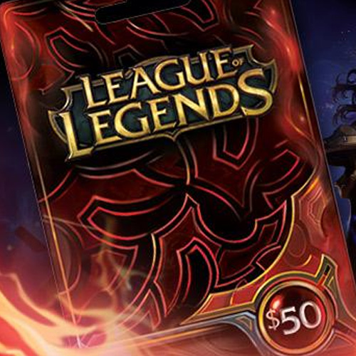 League Of Legends 50 USD Prepaid RP Cards US Gamecard Code Price Comparison