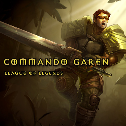 League Of Legends Skin Commando Garen LAN Gamecard Code Price Comparison