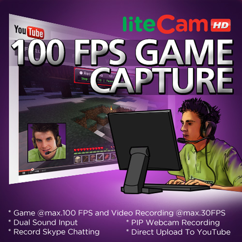 liteCam Game 100 FPS Game Capture Digital Download Price Comparison