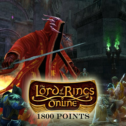 Lord of the Rings Online 1800 Turbine Point Gamecard Code Price Comparison