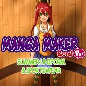 Manga Maker ComiPo Summer Uniform and Sportswear Digital Download Price Comparison