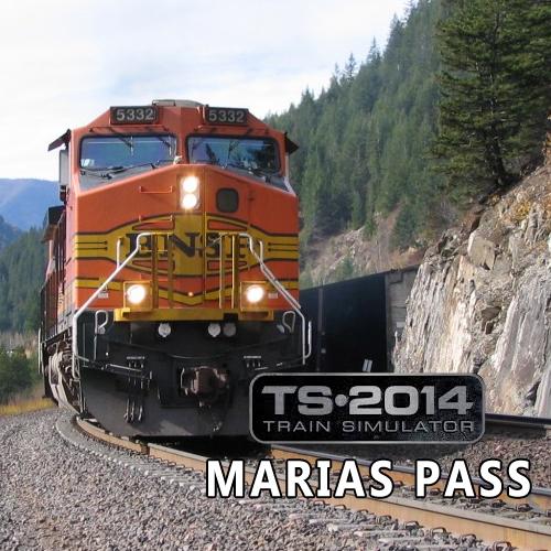 Train Simulator Marias Pass