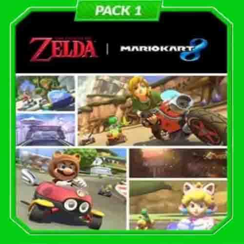 Buy Mario Kart 8 Pack 1 Zelda Nintendo Wii U Download Code Compare Prices