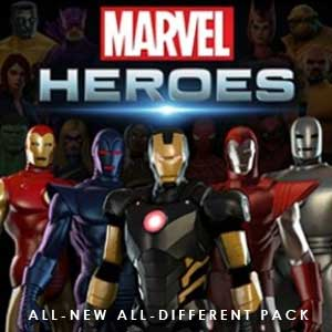 Marvel Heroes 2016 All-New All-Different Pack Digital Download Price Comparison