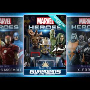 Marvel Heroes 2016 Guardians of the Galaxy Team Pack Digital Download Price Comparison