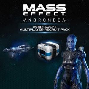 Mass Effect Andromeda Asari Adept Multiplayer Recruit Pack Xbox One Digital & Box Price Comparison