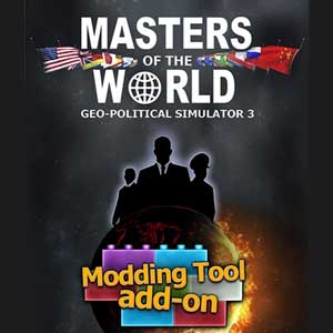 Masters of the World Geo-Political Simulator 3 Modding Tool Add-on Digital Download Price Comparison