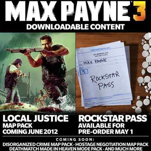 Max Payne 3 Rockstar Pass Digital Download Price Comparison