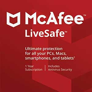McAfee LiveSafe 2020 Digital Download Price Comparison