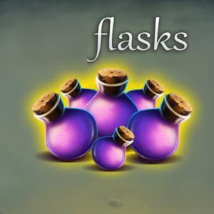 Medieval Defenders flasks