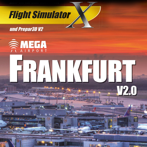 Mega Airport Frankfurt Flight Simulator X Addon Digital Download Price Comparison