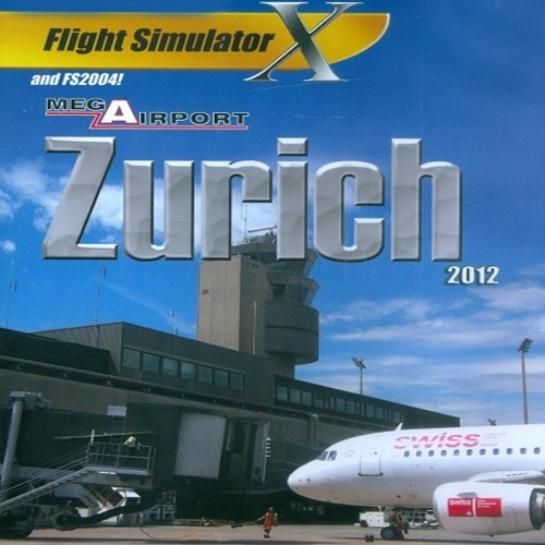 Mega Airport Zürich 2012 Flight Simulator X Addon Digital Download Price Comparison