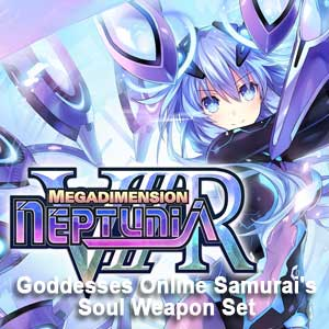 Megadimension Neptunia VIIR 4 Goddesses Online Samurai's Soul Weapon Set