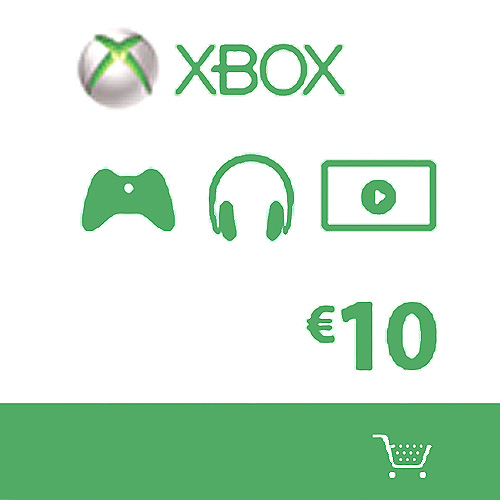 Purchase Xbox Live Gift Card 10 Euros Code Price Comparison