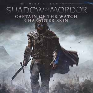 Middle Earth Shadow of Mordor Captain of the Watch Character Skin Digital Download Price Comparison