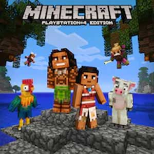 Minecraft Moana Character Pack