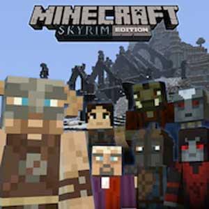 Minecraft Skyrim Mash-up