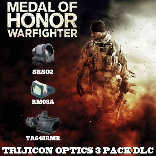MOH Warfighter DLC Trijicon Optics 3 Pack Digital Download Price Comparison