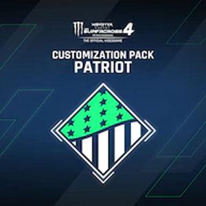 Monster Energy Supercross 4 Customization Pack Patriot