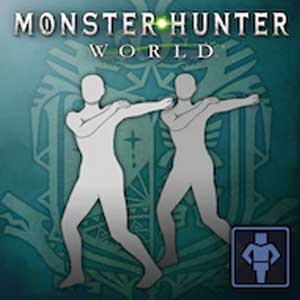 Monster Hunter World Gesture Windmill Whirlwind
